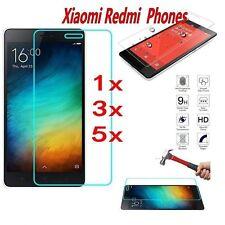 5Stk  Xiaomi 4 5 Redmi Note 2 3 4 Prime Verbundglas Panzerglas Tempered Glass 9H