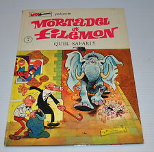 MORTADEL et FILEMON BD #3 Quel Safari French comic Francisco IBANEZ 1972 - rj