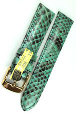 18mm XS echt Python Schlange Uhrenarmband made Graf Germany Band Damenlänge