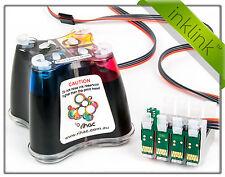 RIHAC CISS Epson Printer Workforce 2660 Cartridge 220 220XL Ink Supply USA chips
