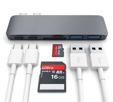 "USB 3.0 Type C Hub for 2016 ,2017 & 2018 MacBook Pro 13"" & 15"" HDMI 4K 7 in 1 UK"