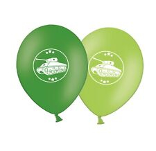 """Army Military Tank   12""""  Green Assorted Latex Balloons pack of 20"""