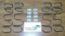 Seat Side Bottom Support Springs 12pc w/ clips 67-69 Camaro Firebird *In Stock*