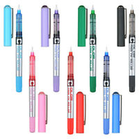 7 Colors 0.5mm Gel Pen Medium Color Ink Business Rollerball Pen Office School H7