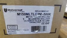 Universal Lighting M150MLTLC3M-500K metal Halide Ballast Magnetic Kit 150W M-102