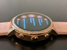 Fossil Women's Gen 4 Venture HR Stainless Steel Touchscreen Smartwatch FTW6015