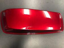 Harley Davidson saddle bag cover lid red LH Left 90201056DZT Take Off