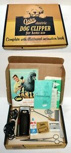 Vintage Oster 95 Animal Clipper Ensemble Complete in Box ~ Bakelite ~ Working
