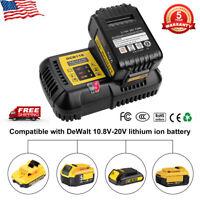For Dewalt DCB118 10.8V-20V Max Li-ion Flexvolt Fan Cooled Fast Battery Charger