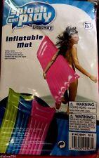 "Splash & Play Bestway Beach 72"" x 27"" Inflatable Air Swim Mattress Float Mat 12+"