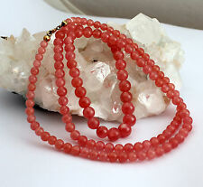 Rodocrosita cadena Collar de piedras preciosas fina AAA Calidad