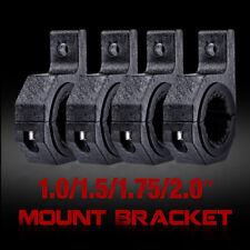 """4X 2"""" Mounting Bracket Cage Clamp Tube Roll Bull Bar LED Work Light HID ATV UTV"""