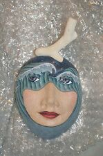 An Ocean View - Wall Mask by Peggy Bjerkan Ceramic Artist