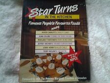 H/B D/J 1988 Star Turns in the Kitchen, famous peoples favourite foods