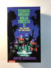 NECA Teenage Mutant Ninja Turtles 2 Secret of the Ooze Super Shredder TMNT NIP