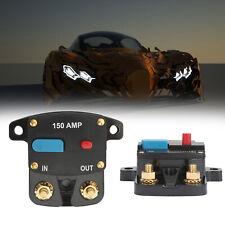 150A Car Audio Self-Recovery Leistungsschal Sicherungshalter Reset Fuse Block ZX