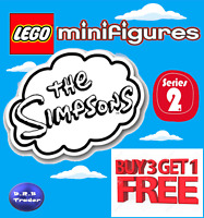 LEGO MINIFIGURES GENUINE THE SIMPSONS 71009 SERIES 2 PICK YOUR OWN *4 FOR 3*