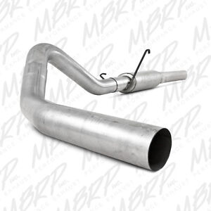 "MBRP 4"" Single Cat Back Exhaust For 04.5-07 Ram  2500/3500 Cummins 5.9L Diesel"