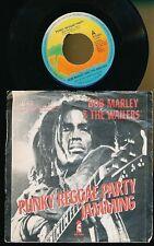 "BOB MARLEY 45T 7"" HOLLANDE PUNKY REGGAE PARTY JAMMING"