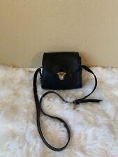 Vintage Dooney and Bourke AWL  Little Bag Small Shoulder Bag black Leather