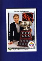 Wayne Gretzky Art Ross HOF 1990-91 Upper Deck UD Hockey #205 (NM+) L.A. Kings