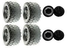 Power Wheels N1476 or N1476-9993 Jeep Rubicon Replacement Wheel- 4 Pack