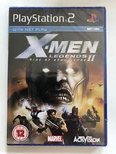 X-Men Legends II: ASCESA DI APOCALISSE-PAL GIOCO PS2-Sigillato Nuovo di Zecca &