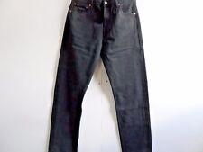 Grade A Levis 501 Denim Jeans STRAIGHT BLACK Mens W36 L34 Vintage 501s WB081