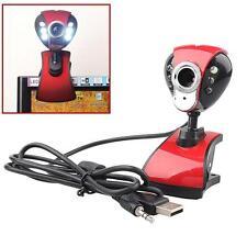 NEW USB 50 mégapixels numérique LED HD Webcam avec microphone pour PC Skype A DX