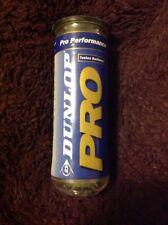 Dunlop Pro Tour Tennis. Tutto Court Tennis Ball - 3 Palline in tubi