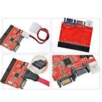 2in1 IDE to SATA Serial ATA/SATA to IDE ATA 100/133 Converter Adapter +Cable NEW