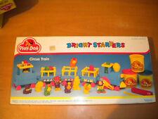 1991 VINTAGE PLAY-DOH BRIGHT STARTERS CIRCUS TRAIN KENNER TONKA MIB