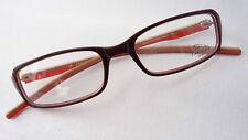 Jaguar Herren Brillen Fassung Kunststoff braun rechteckig Steckbügel size M