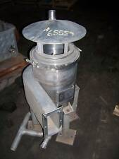 Used Fisher - Klost 316 Stainless Steel Cyclone