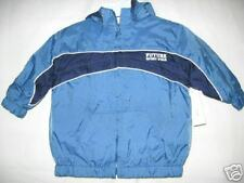 BOYS 12 MONTH BLUE WARM HOOD LINED BASEBALL NYLON JACKET COAT NEW WONDER KIDS
