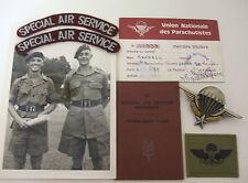 d sqn 22 special air service regiment group sas  permanent pass ,  photo +
