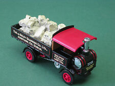 Yorkshire Steam Wagon 1917 Selby Quarries YAS 04-M Matchbox yesteryear  1:43 OVP