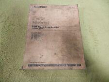 Caterpillar D9N 6XJ1-99999 CAT Track Type Tractor Parts Manual Book