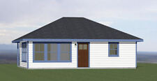 30x24 House -- 1 Bedroom 1 Bath -- 685 sq ft -- PDF Floor Plan -- Model 4A