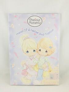Precious Moments notebook w/dust jacket NEW 2004 stationary stationery