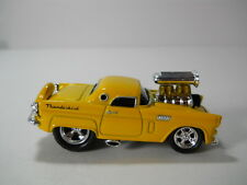 Muscle Machines 56 Blown Ford Thunderbird T-Bird Yellow RR's Funline 1/64 Scale