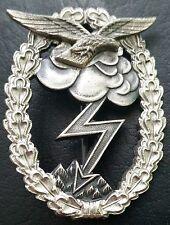 ✚7001✚ German Luftwaffe Flak Gunner Anti Aircraft Badge post WW2 1957 pattern
