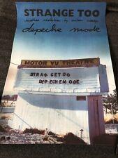 Depeche Mode - Strange Too VHS Promo Poster/Plakat