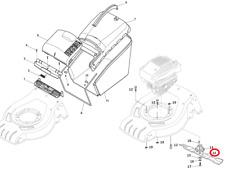 Mountfield HP425 Petrol Lawnmower 41cm Cutting Blade 181004341/3 2017 Model