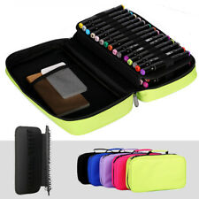 Art Marker Pens Portable Case Detachable Holder Organizer Carrying Bag
