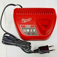 MILWAUKEE M12 12V CHARGER LITHIUM-ION BATTERY AC 220V EU TYPE C PLUG 48-2459
