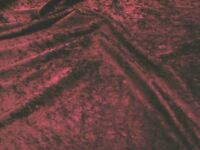 41 COLORS AVAILABLE VELVET PANNE CRUSHED BACKDROP VELOUR STRETCH FABRIC