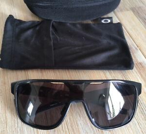 Oakley Crossrange Shield Black Visor Sunglasses