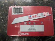 "Milwaukee Reciprocating Sawzall Blade 6"" x 3/4"" 14TPI (100 Pack)"