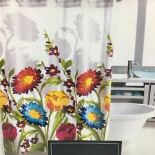 Cynthia Rowley Fiorina Floral Fabric Shower Curtain